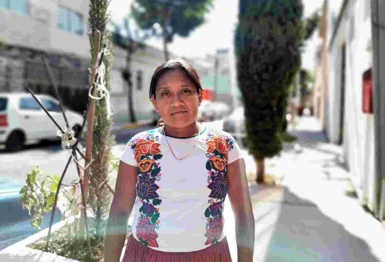 Protestant woman from El Mesón Zapote