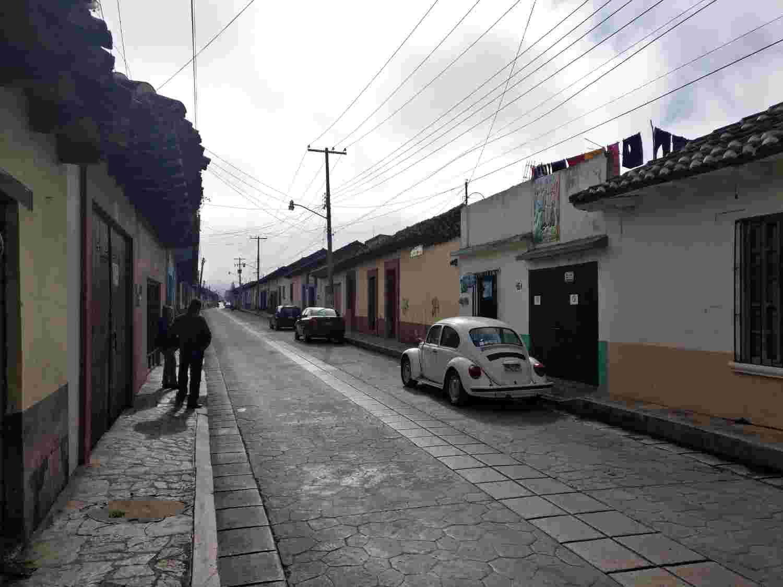 Streets in San Cristobal de las Casas
