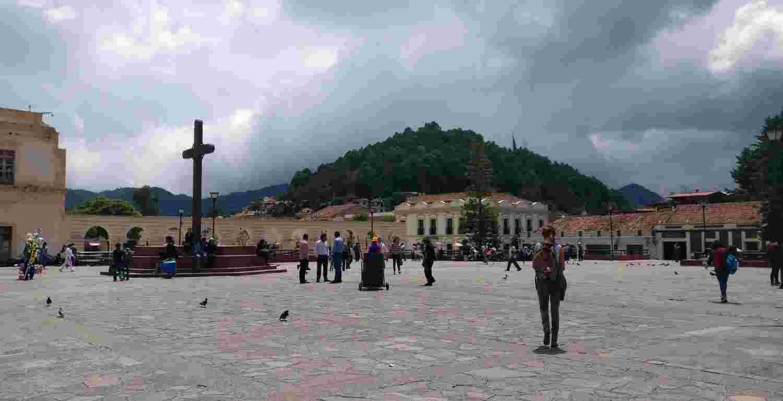 Cross in San Cristobal de las Casas