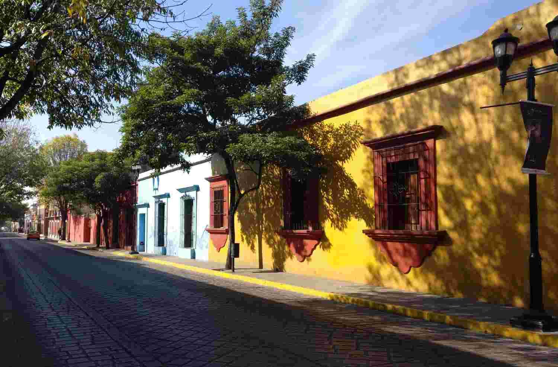 Streets in Oaxaca
