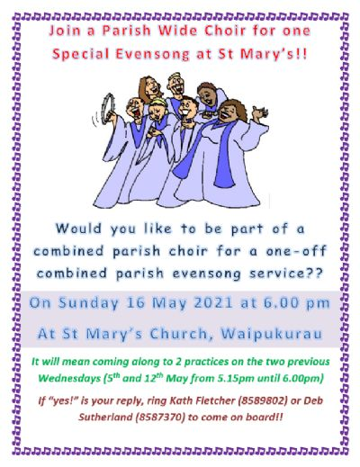 Special Evensong