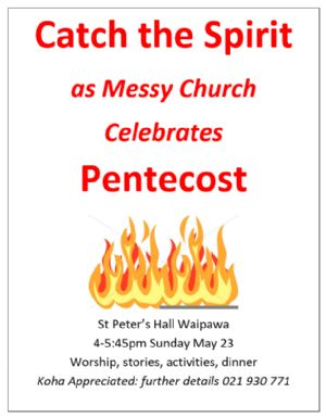Messy Church Pentecost