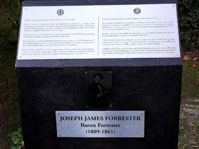 Baron Forrester plaque
