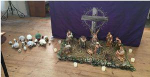 Nativity  sheep