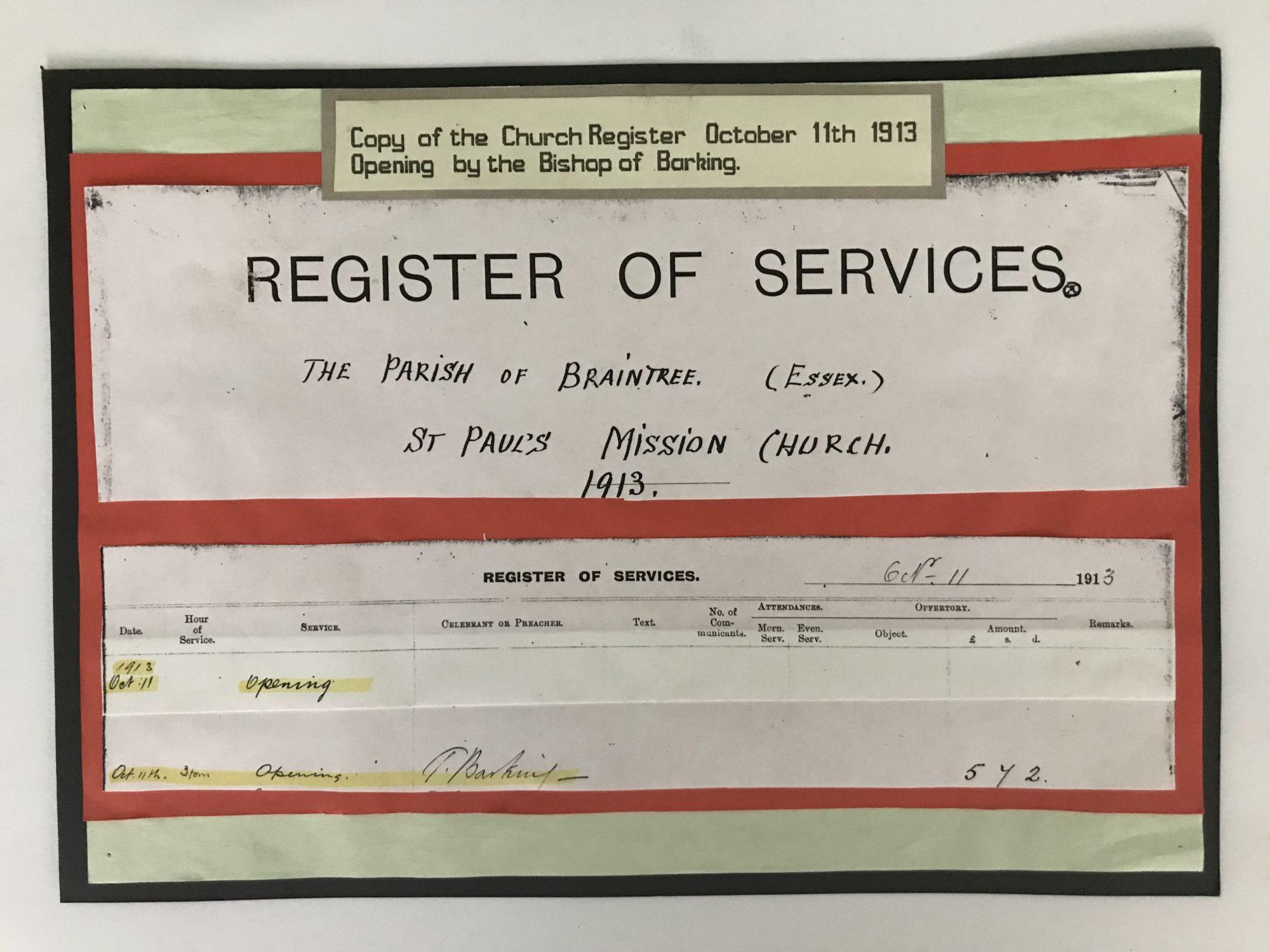 first service