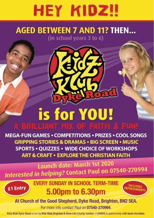 KidzClub Flyer