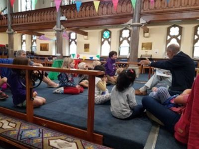 A story in holiday club time