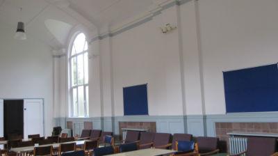 Hall newly refurbished  decorated