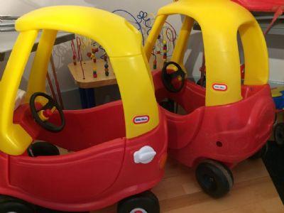 two little tyke cars