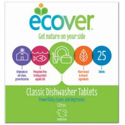 ADVERT for Ecover dishwasher tablets