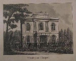 The original 1818 chapel