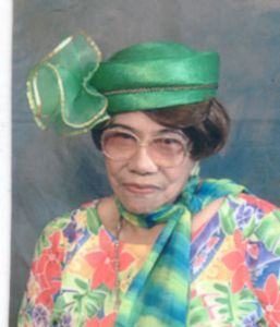 Lorene Edwards passed on May 1, 2009