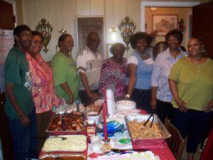 Ronald Addison, Beverly Sims (a friend), Brenda Addison, Luke Addison, Lillie P. Addison, Arnetta Addison, Dorothy Addison Ware, Willie Addison Bradley