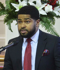 James Ratcliff, Jr. was a presenter in the men's heritage salute