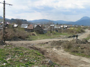 Tarlungeni Village before Better Homes Project