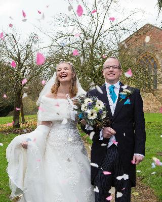 Wedding at St Johns