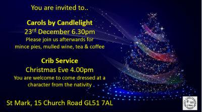St M Christmas Leaflet