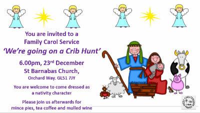 St B Christmas Leaflet