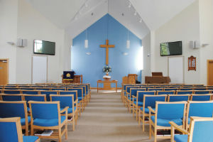 Front of Church Interior