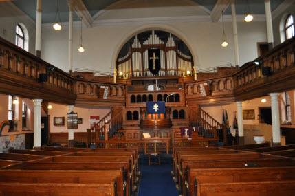 Trinity Chapel interior