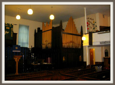 PRBC Sanctuary - view of the organ