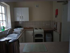 Lower Hall kitchen through hatch
