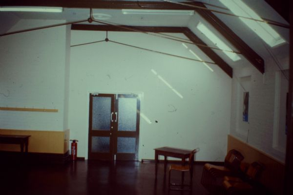 Church hall - first day