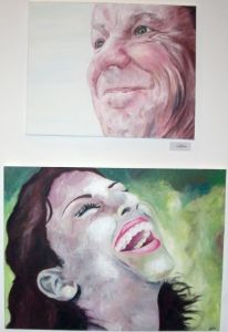 Granddad by Tonyneta Dowden Y13 and laughing Girl