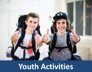 youth activities blue