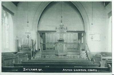 Church Interior in 1920