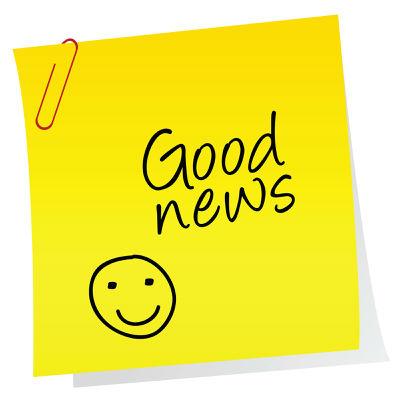 Good News post-it