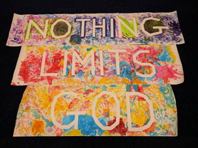 Nothing Limits God poster