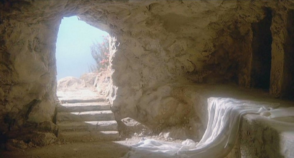 he is not here, he is risen just as he said