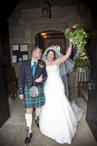 Wedding of Malcolm and Heather