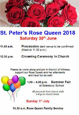 rose queen 2018