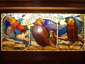 SSJE Centenary stained glass