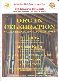Organ Celebration October 21