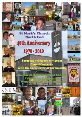 St Marks Church 40th