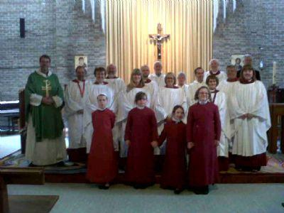 St Marks Choir 2010