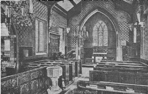 Interior View in 1908