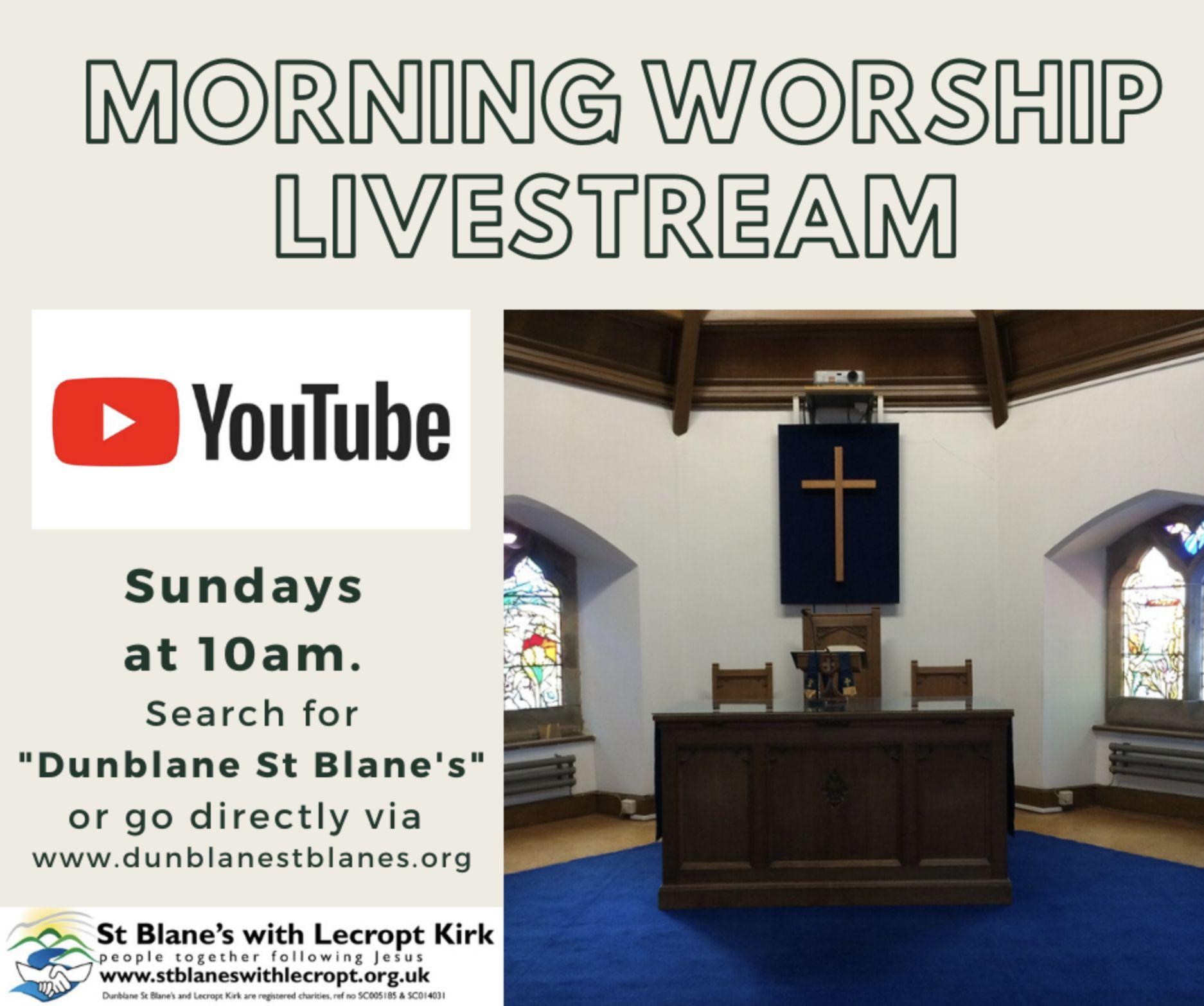 Morning Worship Livestream YouTube