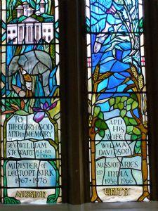 Detail of Stewart Memorial Window