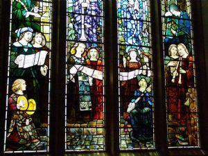 Detail of Chancel Window