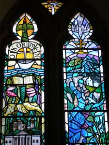 Detail of Stewart Memorial Window