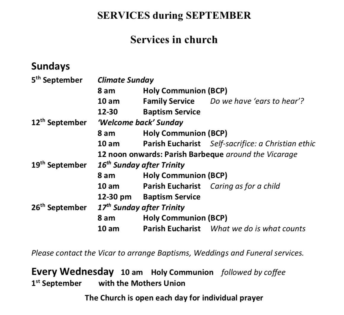 September Services