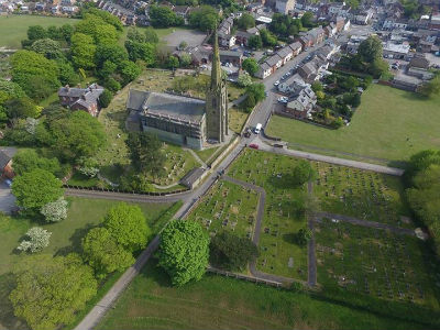 The Church from the air