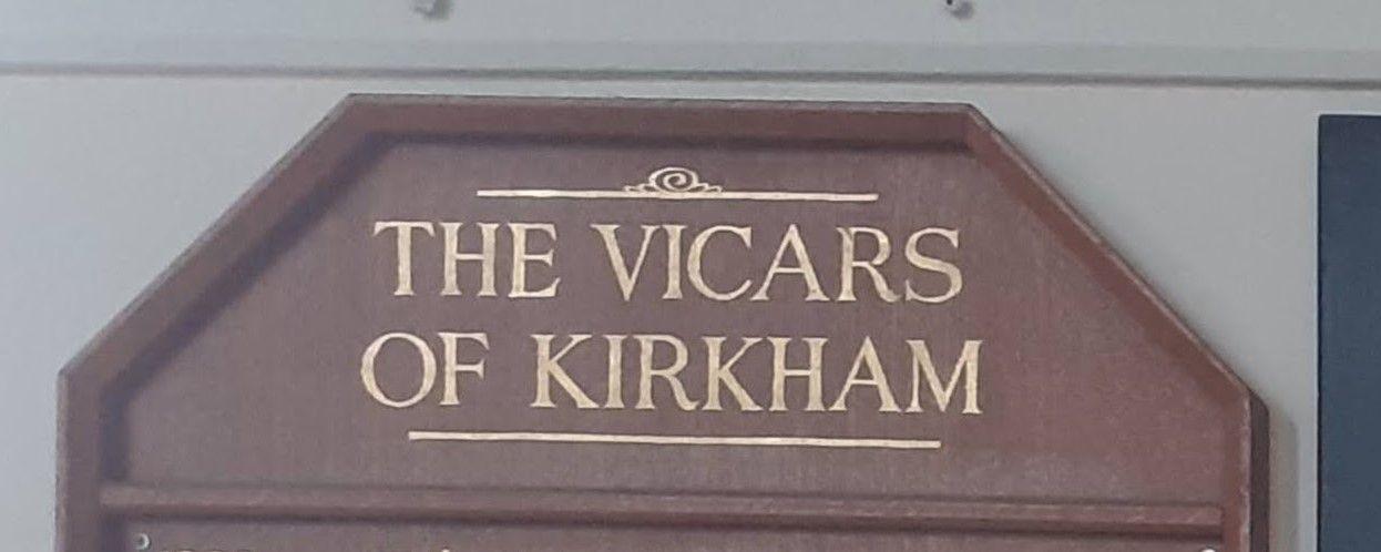 Vicar of Kirkham
