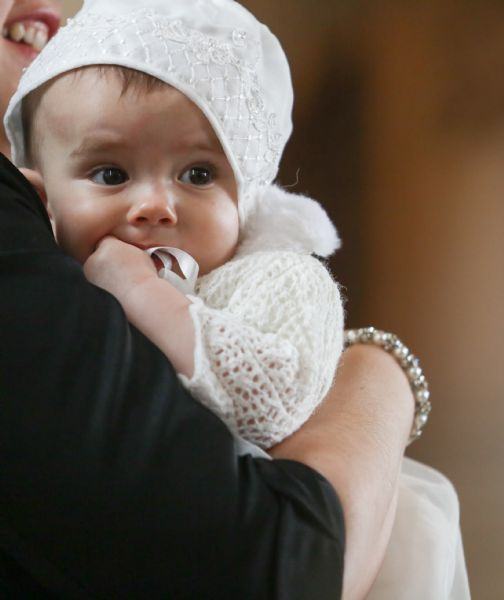 Baptism baby