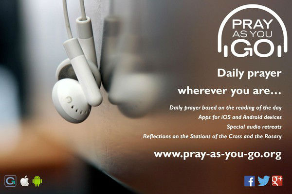 Advert for Pray As You Go