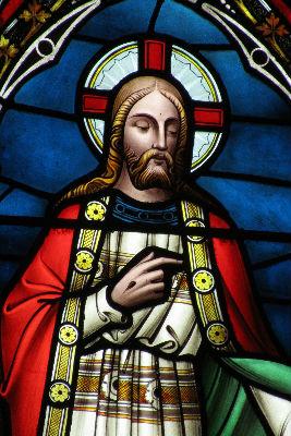 East Window Christ